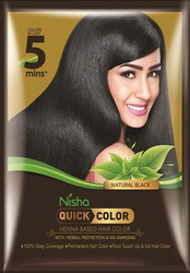 Free Hair Color Sample of Nisha Quick Color