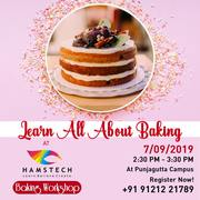 Join Hamstech's Delicious Baking Workshop!
